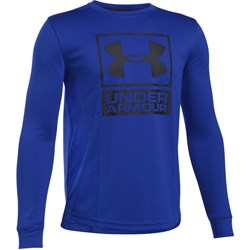 Under Armour - Boys Textured Tech Crew Long-Sleeves T-Shirt