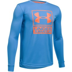 Under Armour - Boys Textured Tech Crew Long-Sleeves T-Shirt