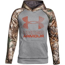 Under Armour - Boys AF Camo Blocked Warmup Top