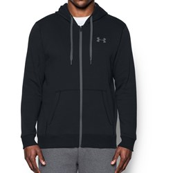 Under Armour - Mens Rival Fitted Full Zip Fleece Top