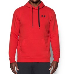 Under Armour - Mens Rival Fitted Pull Over Fleece Top