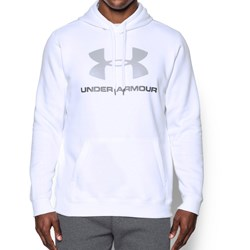 Under Armour - Mens Rival Fitted Graphic Fleece Top