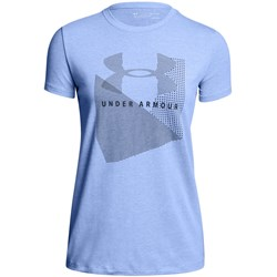 Under Armour - Womens Sportstyle Mesh Logo Crew T-Shirt