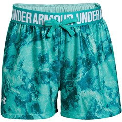 Under Armour - Girls Printed Play Up Shorts