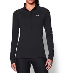 Under Armour - Womens Tech 1/2 Zip Long-Sleeves T-Shirt