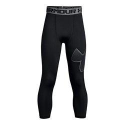 Under Armour - Boys Armour 3/4 Logo Leggings