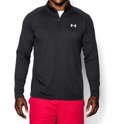 Under Armour - Mens Tech Zip Long-Sleeves T-Shirt
