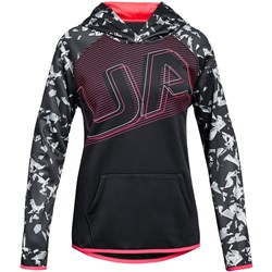 Under Armour - Girls AF Logo Warmup Top
