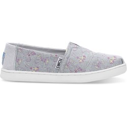 Toms Youth Alpargata Canvas Printed Espadrille