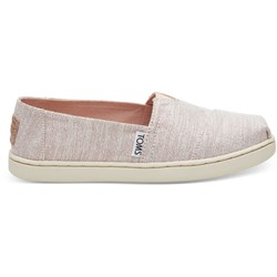 Toms Youth Alpargata Cotton Espadrille