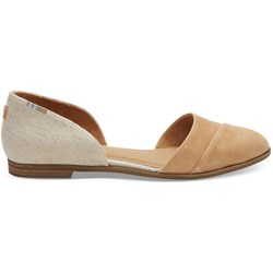 Toms Women's Jutti Dorsay Leather Flat