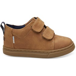 Toms Tiny Lenny Mid Synthetic Suede Sneaker