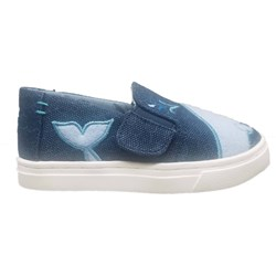 Toms Tiny Luca Cotton/Poly Slip-On