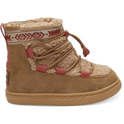 Toms Tiny Alpine Suede Boot