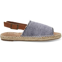 Toms Women's Clara Denim Chambray Espadrille