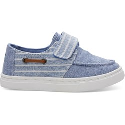 Toms Tiny Culver Denim Chambray Slip-On