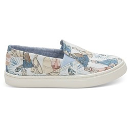 Toms Youth Luca Cotton Slip-On