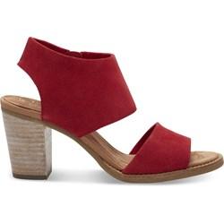 Toms Women's Majorca Cutout Suede Sandal