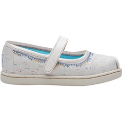 Toms Tiny Mary Jane Embroidery Embellished Flat
