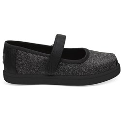 Toms Tiny Mary Jane Polyester Flat