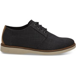 Toms Men's Preston Linen Dress Lace-Up