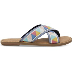 Toms Women's Viv Novelty Textile Sandal