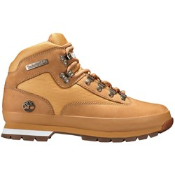 Timberland - Mens Euro Hiker Mid Fabric And Leather Shoe