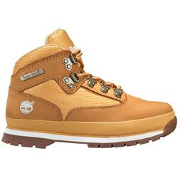 Timberland - Youth Euro Hiker Mid Fabric And Leather Shoe