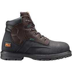 "Timberland Pro - Mens Powerwelt 6"" Steel Safety Toe Waterproof Shoe"