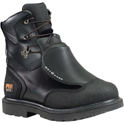 "Timberland Pro - Mens 8"" External Met Guard Waterproof Steel Safety Toe Shoe"