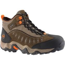 Timberland Pro - Mens Mudslinger Mid Steel Safety Toe Waterproof Shoe
