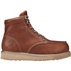 "Timberland Pro - Mens 6"" Barstow Wedge Boot Moc Alloy Safety Toe"