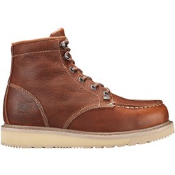 "Timberland Pro - Mens 6"" Barstow Wedge Boot Moc Soft Toe"