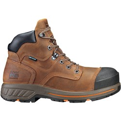 Timberland Pro - Mens 6 In Helix Hd Ct Wp Brown Shoe