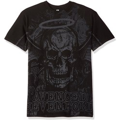 Avenged Sevenfold Dear God Allover Mens Regular T-Shirt