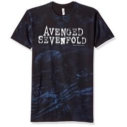 Avenged Sevenfold Skeleton Mist Allover Mens Regular T-Shirt