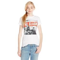 The Clash B&W Photo Junior's T-Shirt