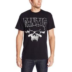 Danzig Skull Logo Mens Regular T-Shirt