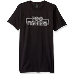 Foo Fighters Outlined Logo Mens Soft T-Shirt