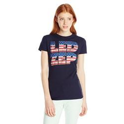 Led Zeppelin Flag Logo Junior's T-Shirt