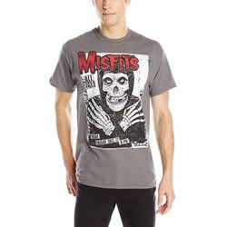 Misfits All Ages Skeleton Mens Regular T-Shirt