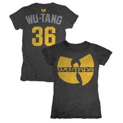 Wu-Tang Clan Logo 36 Ladies Crew T-Shirt