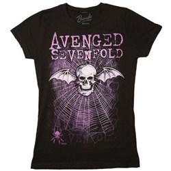 Avenged Sevenfold Weaved Junior's T-Shirt