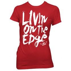 Aerosmith Livin' On The Edge Junior's T-Shirt