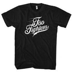 Foo Fighters Script Logo Mens Soft T-Shirt