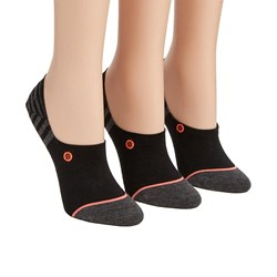 Stance - Womens Invisible 3 Pack Socks