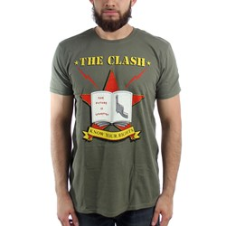 The Clash Know Your Rights Mens Soft T-Shirt