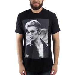 David Bowie Smoking Photo Mens Soft T-Shirt
