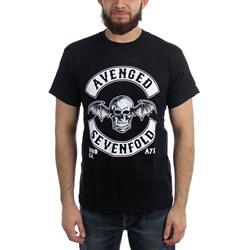 Avenged Sevenfold Deathbat Crest Mens Regular T-Shirt