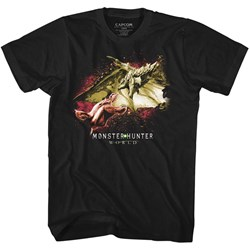 Monster Hunter - Mens Face Off T-Shirt